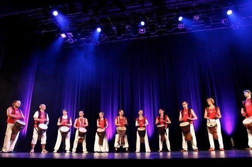 les prochains concerts de percussions des adhérents